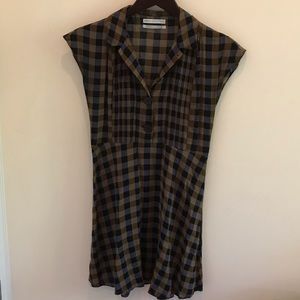 Urban Outfitters checkered dress